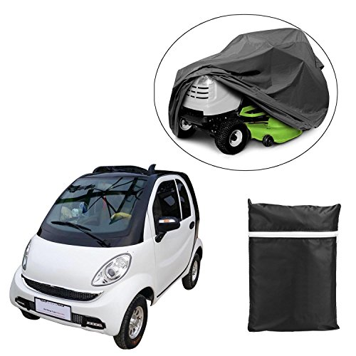 190T Nylon Power Mobility Scooter Storage Cover Waterproof Dust Sun Wind Proof Outdoor ATV UV Big Car Cover 66.3''L x 23.8''D x 45.6''H