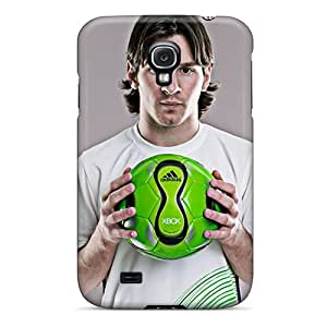 For Galaxy S4 Premium Tpu Case Cover Lionel Messi Protective Case