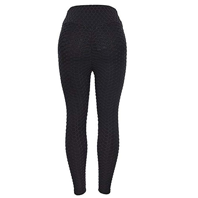 Amazon.com: Leggings para mujer con botones de levantamiento ...