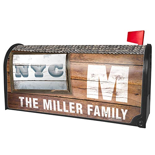 NEONBLOND Custom Mailbox Cover NYC Snow Ball Winter Time