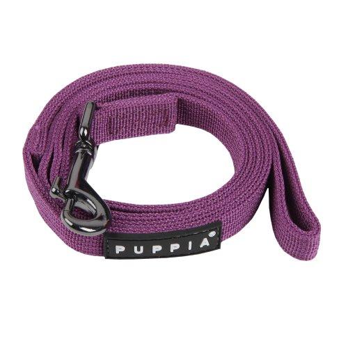 Puppia Authentic Two Tone Lead, Purple, Medium