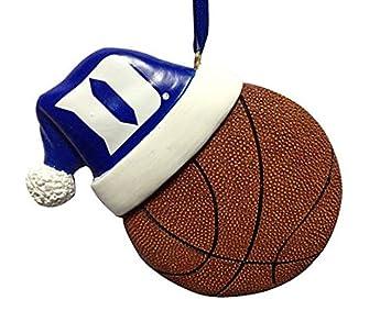 Amazon.com   DUKE SANTA HAT BASKETBALL ORNAMENT   Sports   Outdoors 84bc4902de2