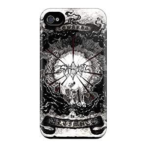 High Quality Hard Phone Cover For Iphone 4/4s (TlJ18453yMqW) Custom Nice Einherjer Band Skin