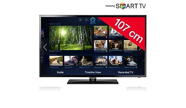 SAMSUNG Televisor LED Smart TV UE42F5300 - negro: Amazon.es: Electrónica