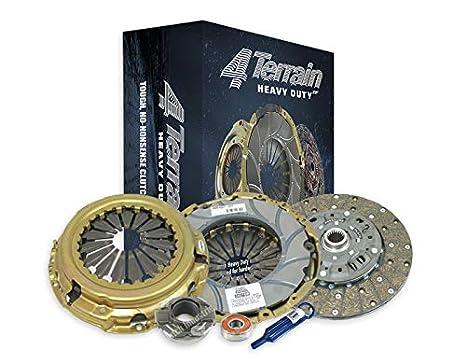 4Terrain Heavy Duty Premium Clutch Kit | 4Terrain ER2 Heavy Duty Cover Assembly | Heavy Duty Clutch Plate for ...