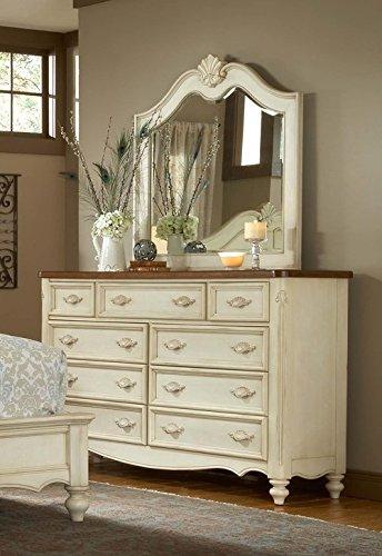 American Woodcrafters Chateau Triple Dresser & - Mirror Triple Dresser