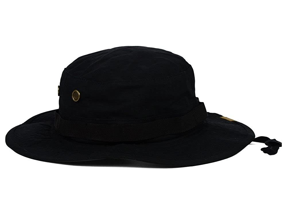 63d2e5ee8cfb2 ... coupon code for hurley flex fit black safari bucket boonie hat black  amazon clothing 7ab34 64771