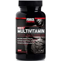 Men's Multivitamin, Daily Vitamins and Minerals for Active Men's Health, Performance Formula for Better Nutrition, Force Factor, 60 Count