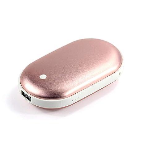 SXSHYUCO Calentadores De Manos USB Recargables Mini Cargador ...