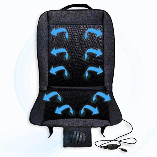Zento Deals 12V Automotive Adjustable Cooling Car Cushion