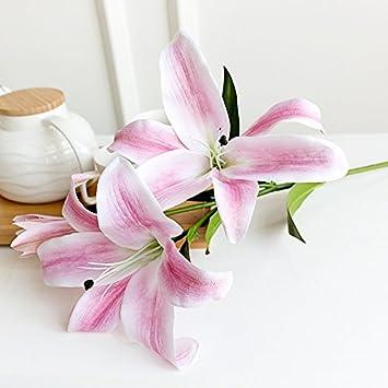 Jiale3536 Kunstliche Blumen Lily Lily Blume Blume Simulation