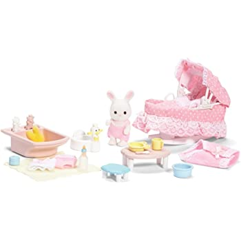 Amazon Com Calico Critters Forest Nursery Gift Set