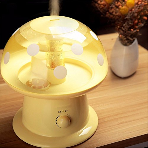 HOMEE Capacity sound humidifier mute capacity home office mini air bedroom large miniature by HOMEE