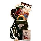 Golf Lovers Golfing Around Golf Gift Basket