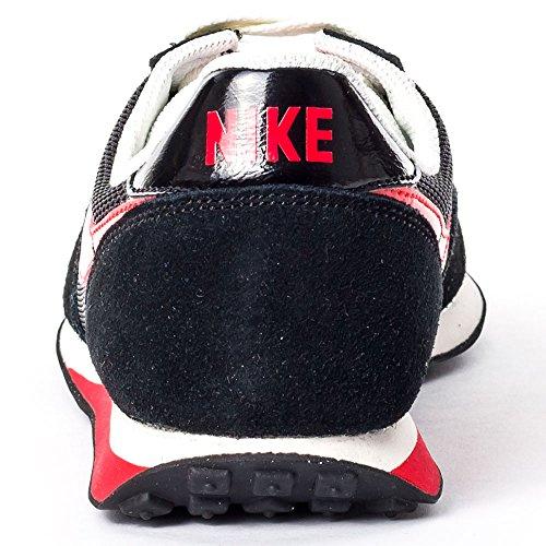 Nike Elite (GS), Zapatillas de Running Para Niños Negro / Rojo (Black / Challenge Red-Sail)