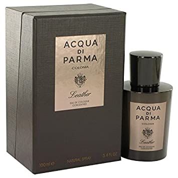 Acqua Di Parma Colonia Leather by Acqua Di Parma Eau De Cologne Concentree Spray 3.4 oz