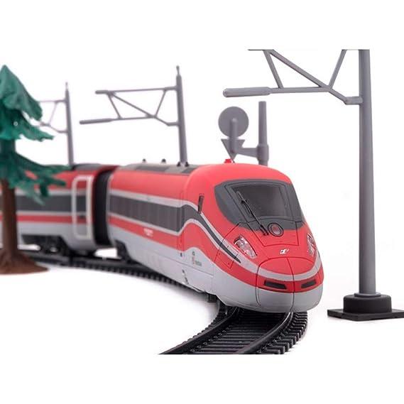 Bakaji Pista Treno Frecciarossa Radiocomandato Modellino In Toys iuXOkPZ