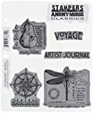 Stampers Anonymous Rubber Stamp Set, 7 by