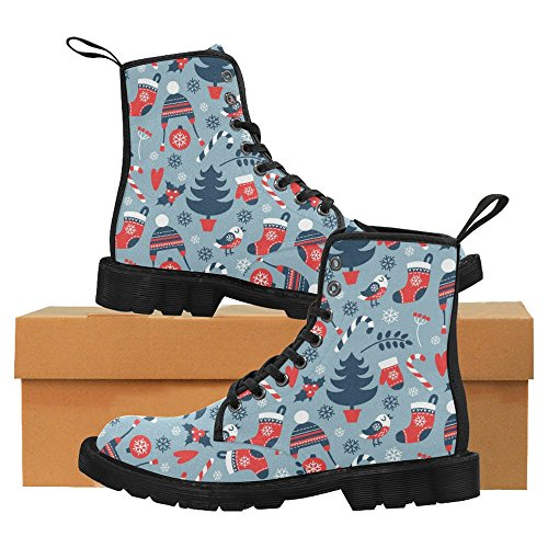 Stivali Da Donna Di Interestprint Scarpe Stringate Comfort Dal Design Unico Multi 10