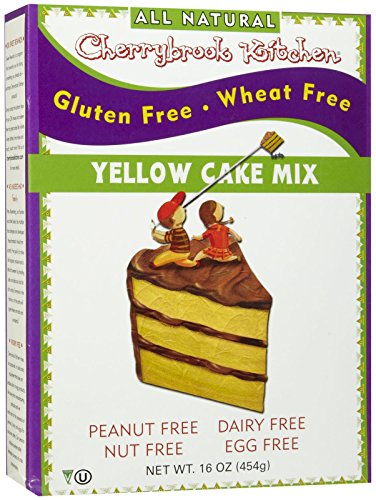 Gluten Cherrybrook Free Kitchen (Cherrybrook Kitchen Gluten Free Dreams Yellow Cake Mix - 16.4 oz)