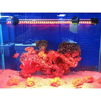 Quick shopping 29CM Red Energy¡ªsaving Superbright LED Aquarium Light Fishbowl Diving Lights