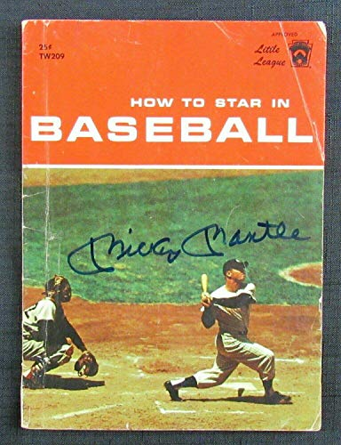 (Mickey Mantle Signed Auto Autograph 1960 How To Star In Baseball Magazine BB - JSA Certified - Autographed MLB Magazines)