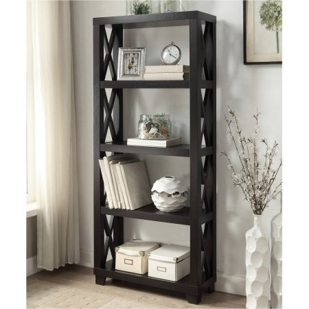 coaster-4-shelf-humfrye-bookcase-cappuccino-finish
