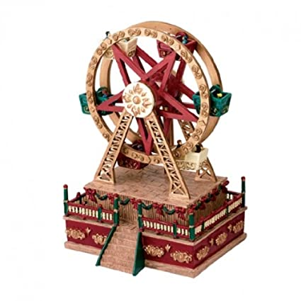 Christmas Ferris Wheel Music Box.Mr Christmas Mini Carnival Music Box Ferris Wheel Amazon