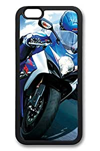 6 Case, iPhone 6 Case Blue Suzuki Superbike Race Ideas TPU Silicone Gel Back Cover Skin Soft Bumper Case Cover for Apple iPhone 6 by mcsharksby Maris's Diary