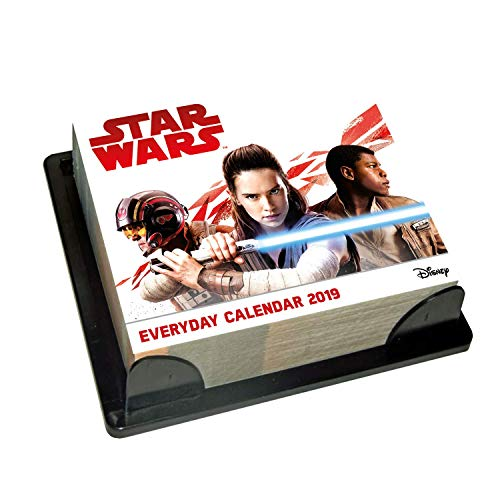(Star Wars Desk Block 2019 Calendar - Page a Day Desk Block Format )