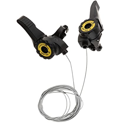 Bicycle Bike ShiftersSpeed Shifters Trigger Friction Shifters 15//18//21 speed