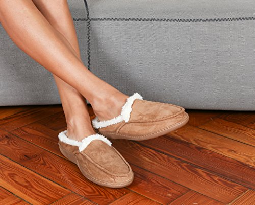 Poliestere Kanguru 14 Pantofole 1143 Cm Uomo Per X Bianco 30 Marrone OqtRwqxr