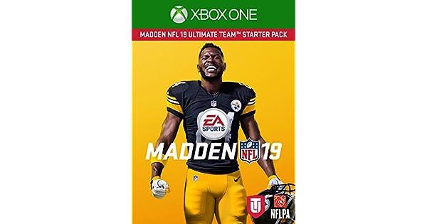 Xbox One Madden NFL 19 Download Code Starter Pack DLC