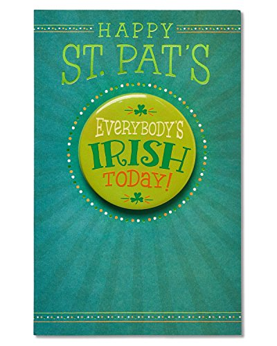 (Everybody's Irish St. Patrick's Day Card with Keepsake)