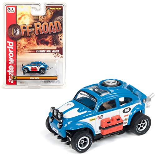 - Auto World SC335-3B Off Road X-Traction Baja Bug Clam Shell HO Scale Slot Car