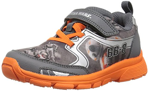 Price comparison product image Stride Rite Boys' Star Wars BB-8 Roller Sneaker,  Grey / Orange,  3 M US Little Kid