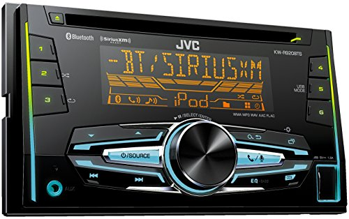 JVC KW-R920BTS Double DIN Bluetooth In-Dash Car Stereo Receiver w/ For Android & iPhone, SXM, Vario, 2 pre 4.8V and FLAC playback (Jvc Car Stereo Double Din compare prices)