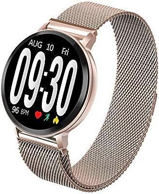 ZLOPV S8 Reloj Inteligente Hombres Mujeres Presión Arterial Ritmo ...