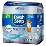 Fresh Step Total Control with Febreze Cat Litter, Scented (42 lbs.) (pack of 6)