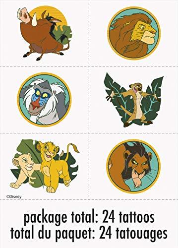 Unique Disney Lion King Party Tattoos, 24