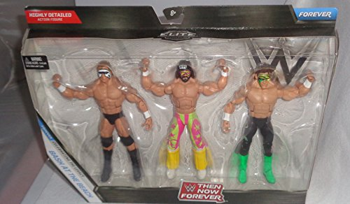 WWE, Elite Collection Then Now Forever, Bash at the Beach Exclusive Action Figure 3-Pack (Randy Savage, Sting, and Lex Luger) by WWE Elite