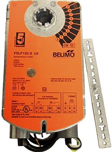 120v Actuator (Belimo Aircontrols (USA), Inc. FSLF120S Belimo fire smoke damper 120V actuator)