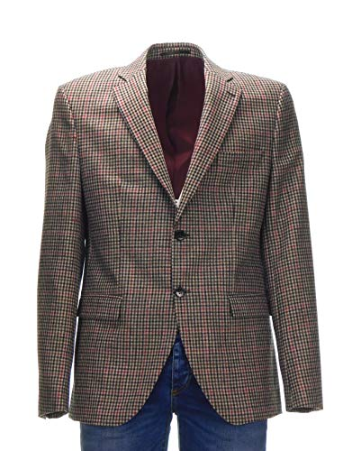 Selected Selected Selected 16063878 16063878 16063878 16063878 Homme Fit Giacca Blazer Quadretto Slim Uomo qIwEIvOxr