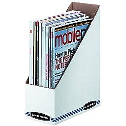 Bankers Box Stor/File Magazine Holders, Letter, 12 Pack (10723)