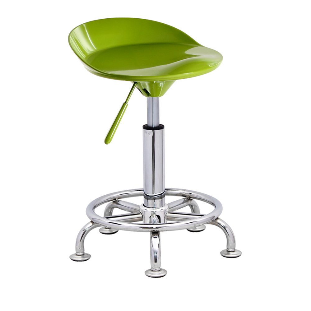Fashion bar stool, lift bar chair, simple home bar chair, front desk high stool, bar stool -by TIANTA (Color : Fruit green)