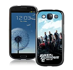 Case For Galaxy S3,fast and furious six Black Samsung Galaxy S3 i9300 Case