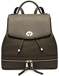 AMELIE GALANTI PU Leather Casual College Backpack Fashion Bag For Women Briefcase