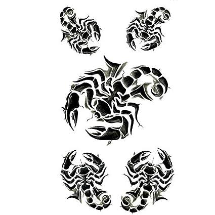 PAMO 10 piezas/lot Tatuaje Temporal Sexy Escorpio Impermeable ...