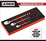 ARES 71289-90-Tooth Aluminum Ratchet Set