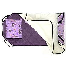Urban Infant 1018 Toddler Tot Cot Nap Mat, Purple